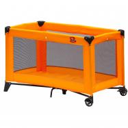 Dziecięce turystyczne łóżeczko Scarlett Piki - pomarańczowy