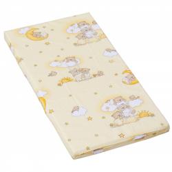 Materac do łóżeczka Scarlett Mráček - beżowy, 120 x 60 x 6 cm