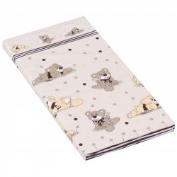 Materac do łóżeczka Scarlett Patrik - beżowy, 120 x 60 x 6 cm