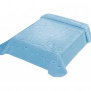 Španělská deka LUX 535 - modrá, 80 x 110 cm