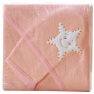 Froté uterák - Scarlett s kapucňou - marhuľová