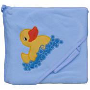 Froté uterák - Scarlett kačička s kapucňou - modrá