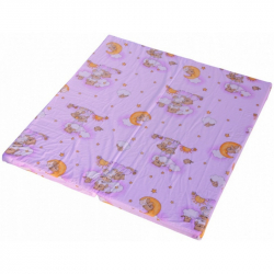 Hrací deka - Scarlett Mráček do ohrádky Klára - růžová, 140 x 130 cm