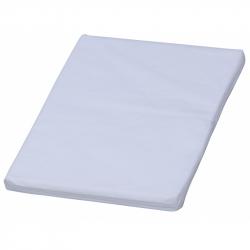 Nepriepustná prebaľovacia podložka Scarlett - biela - 70 x 50 x 4 cm
