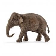 Schleich - Zvířátko - asijský slon samice