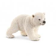Zvířátko - mládě ledního medvěda chodící