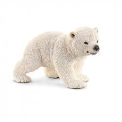 Zvieratko - mláďa ľadového medveďa chodiace