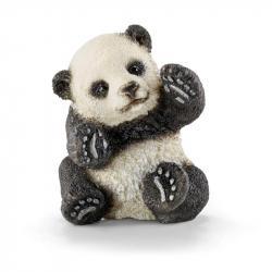 Zvieratko - mláďa  pandy hrajúce sa
