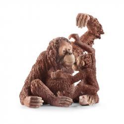 Zvieratko - samica orangutana