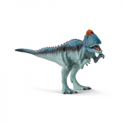 Prahistorické zvířátko - Cryolophosaurus s pohyblivou čelistí