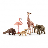 Divoká zvířata set 5 ks