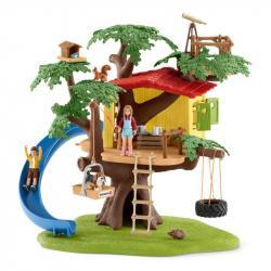 Domek przygód na drzewie