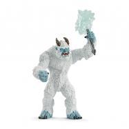 Śnieżny Potwór z bronią