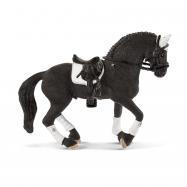 Turnajový hřebec Fríského koně
