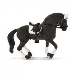 Turnajový žrebec frízskeho koňa