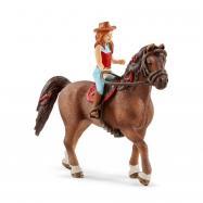Ryšavka Hannah a kôň Cayenne