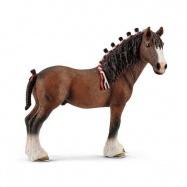 Kone Schleich - Zvieratko - valach Clydesdaleský