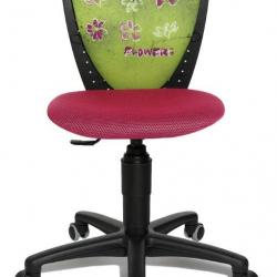 Rosnące krzesełko S' Cool NIKI kwiatuszki