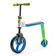 Scoot & Ride Highway buddy 2v1 modro-zelené, 3 - 5 let