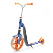 Scoot & Ride Highway gangster 2v1 bílo-modro-oranžová, 5+ let