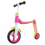 Scoot & Ride Highway baby 2v1 růžovo-žluté, 1 - 3 roky