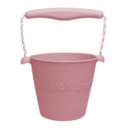 Scrunch silikónový kbelíček staroružový