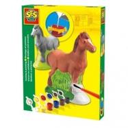 Odlew gipsowy 3D - koń