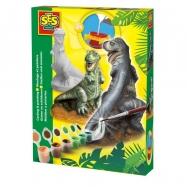 Sádrový komplet - T-rex