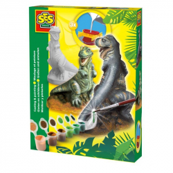 Sadrový komplet - T-rex