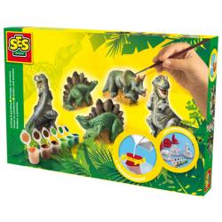 Zestaw do wykonywania odlewów Dinozaury