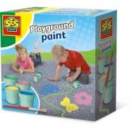 Farba do zabawy na dworze