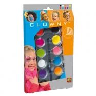 Clowny aqua 10 barev - Trendy