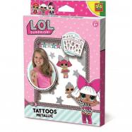 L.O.L - metalické tetovanie