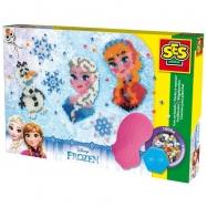 Frozen - zažehlovací korálky, velká sada