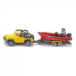 Siku 16 - Jeep z łodzią