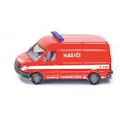 SIKU česká verzia - hasiči dodávka