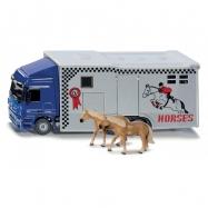 SIKU Super - Transporter pro přepravu koní, 1:50