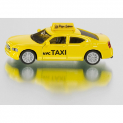 Kovový model auta - SIKU Blister - Taxi US žluté