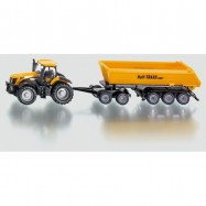 SIKU Farmer - Traktor se sklápěcím přívěsem 1 87