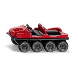 Kovový model - Siku Blister - Štvorkolesový trasporter Argo Avenger