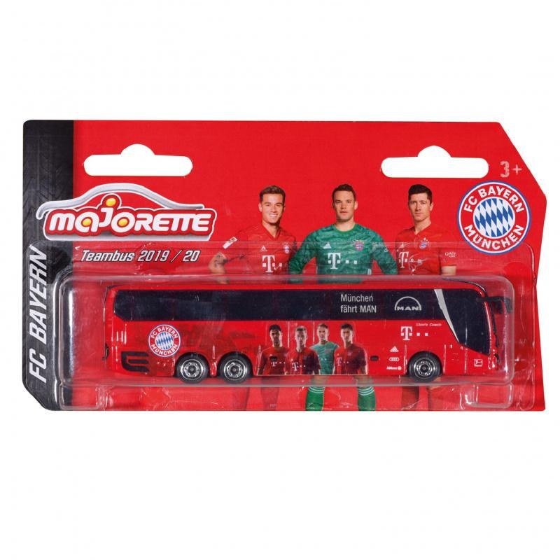 Autobus MAN FC Bayern 13 cm