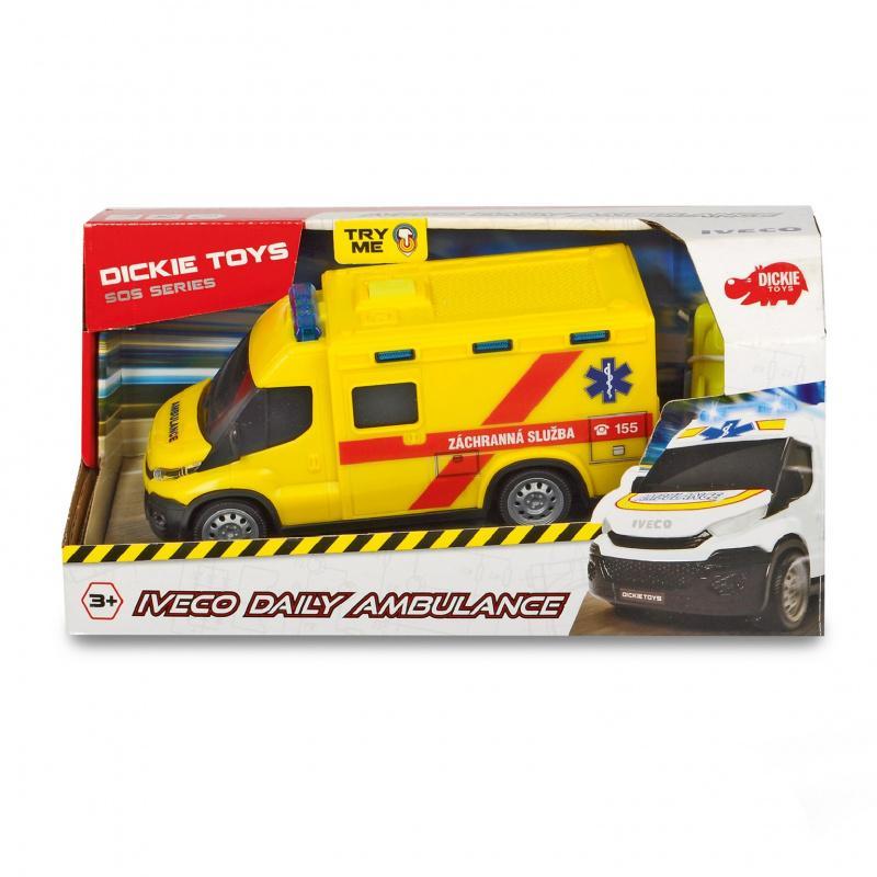 Ambulance Iveco česká verze 18 cm