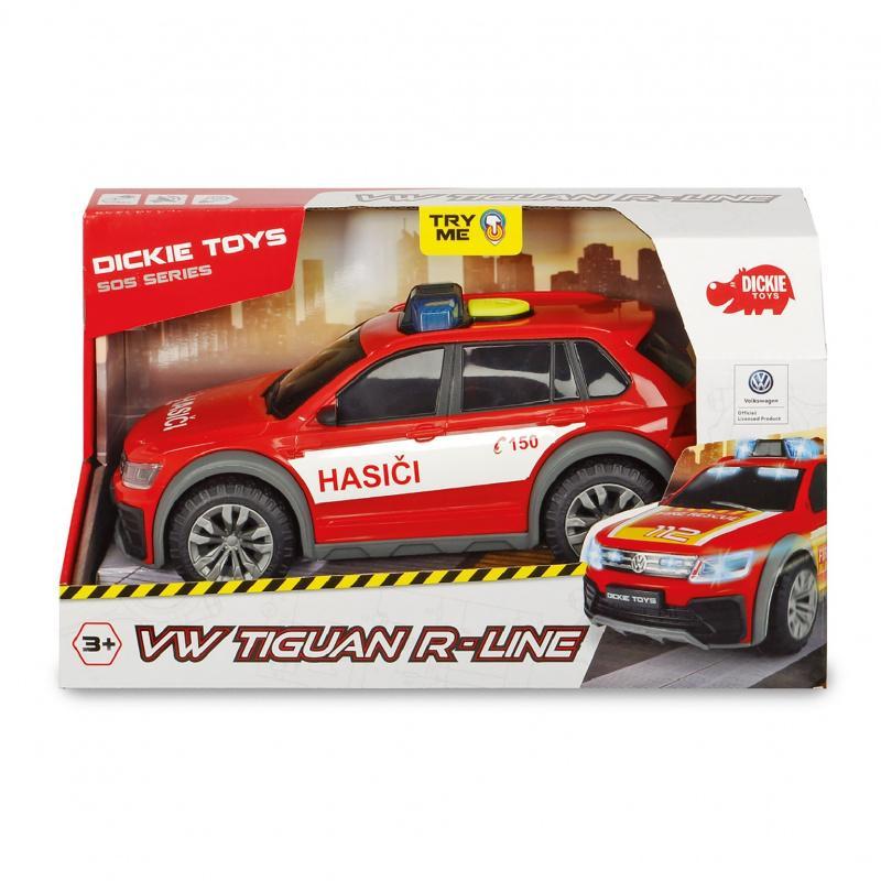 Hasičské auto VW Tiguan R-Line Fire česká verzia
