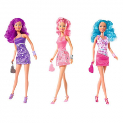 Steffi Fancy Hair lalka, 3 rodzaje