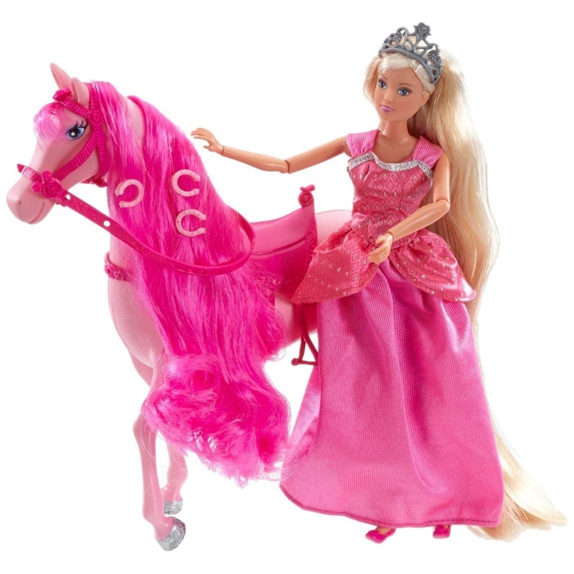 Księżniczka Steffi na koniu