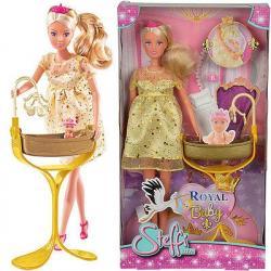 Bábika Steffi Tehotná princezná