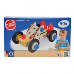 HEROS Constructor Racer, 3 modely