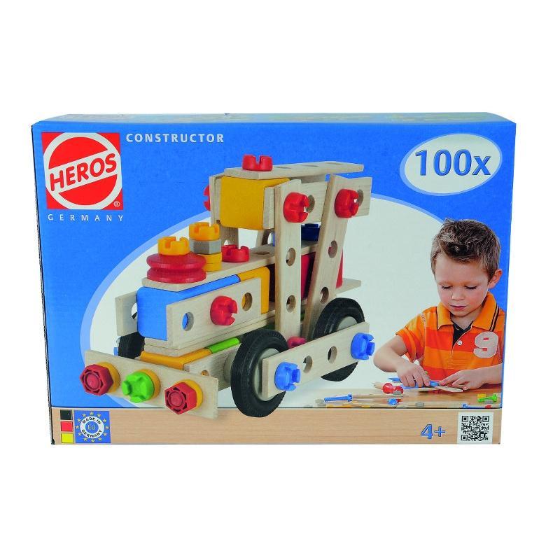 HEROS Constructor 100 dílů