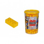 Blox 100 Klocki w pojemniku żółte