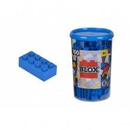 Blox 100 Klocki w pojemniku niebieskie